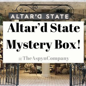 Altar'd State Mystery Box! 6 items included!